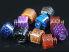 Drip Tip 510 Wide Bore Snakeskin Design