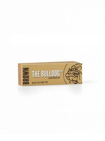The Bulldog Amsterdam Eco Filter Tips Brown