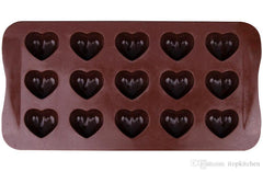 Gummy Mould Hearts - 15 Cavity