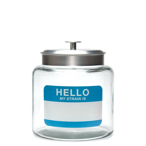 1.5 Gallon Airtight Jar- Write & Erase with a Sharpie