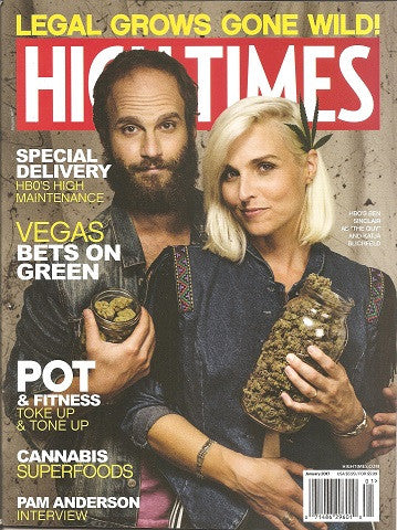 High Times Magazine Issue #492 January 17