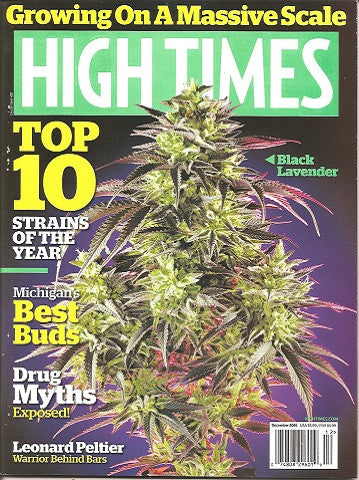 High Times Magazine Issue #491 December 16