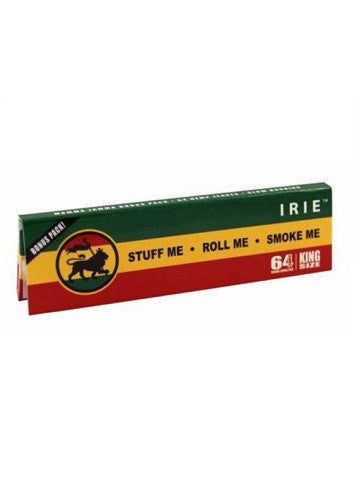 Irie King size Hemp Cigarette Rolling Papers Extra Thin
