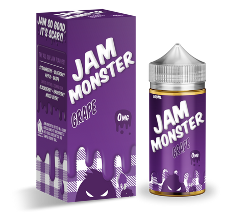 Jam Monster Grape Jam Ejuice 100ml 0mg