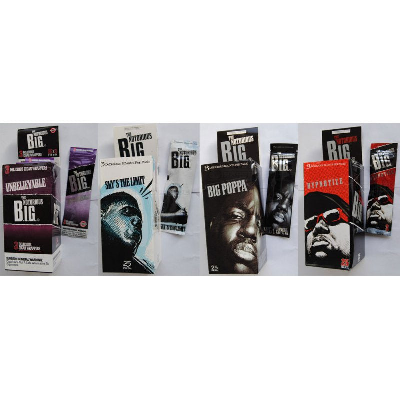Notorious BIG Cigar Blunt Wraps