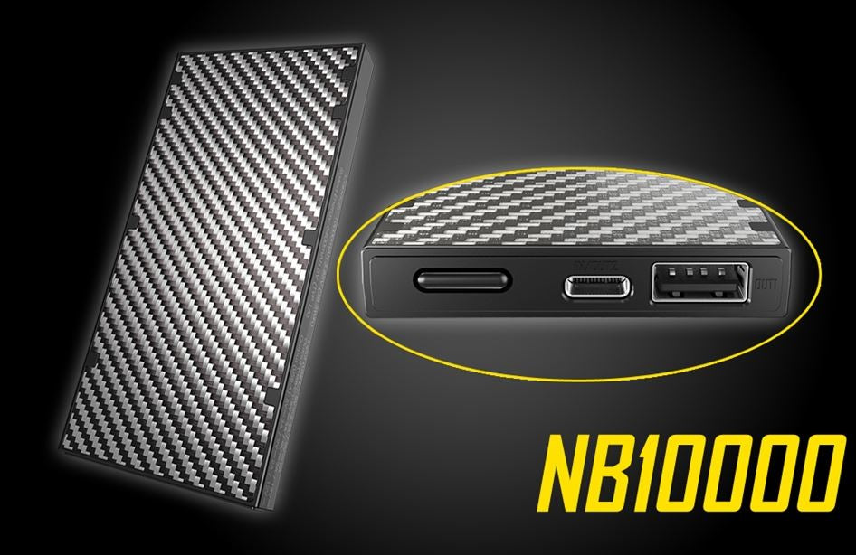 Nitecore NB10000 10000mAh Lightweight Power Bank
