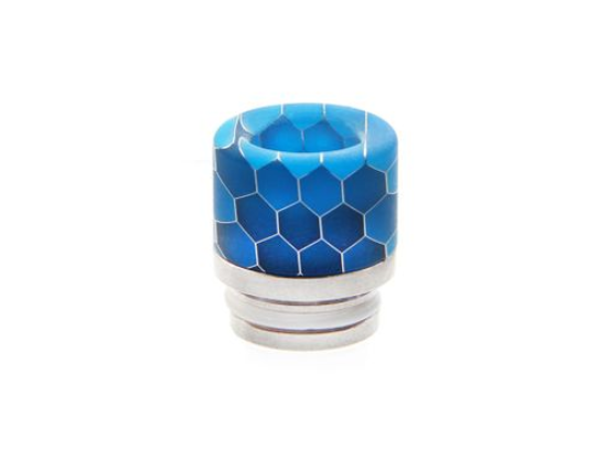 Noctilucent 810 Resin and Stainless Steel Drip Tip