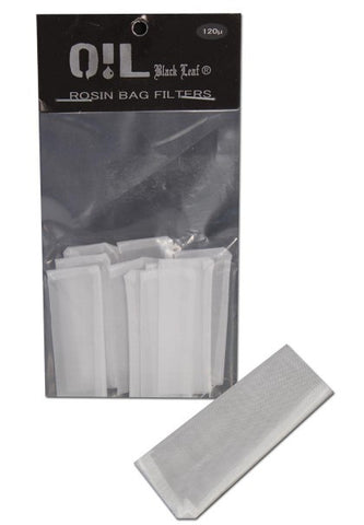Rosin Filter Bags 10 pack 120μm Small Size