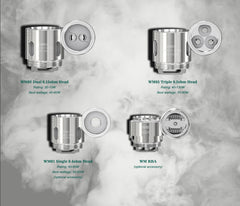 WISMEC WM Coil Head for Gnome Tank 5pcs