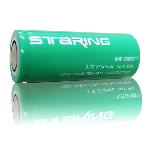Staring 26650 Bettery Cell 3500mAh