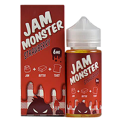 Strawberry Jam by Jam Monster Ejuice 100ml