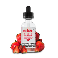 Naked 100 Triple Strawberry 60ml Ejuice