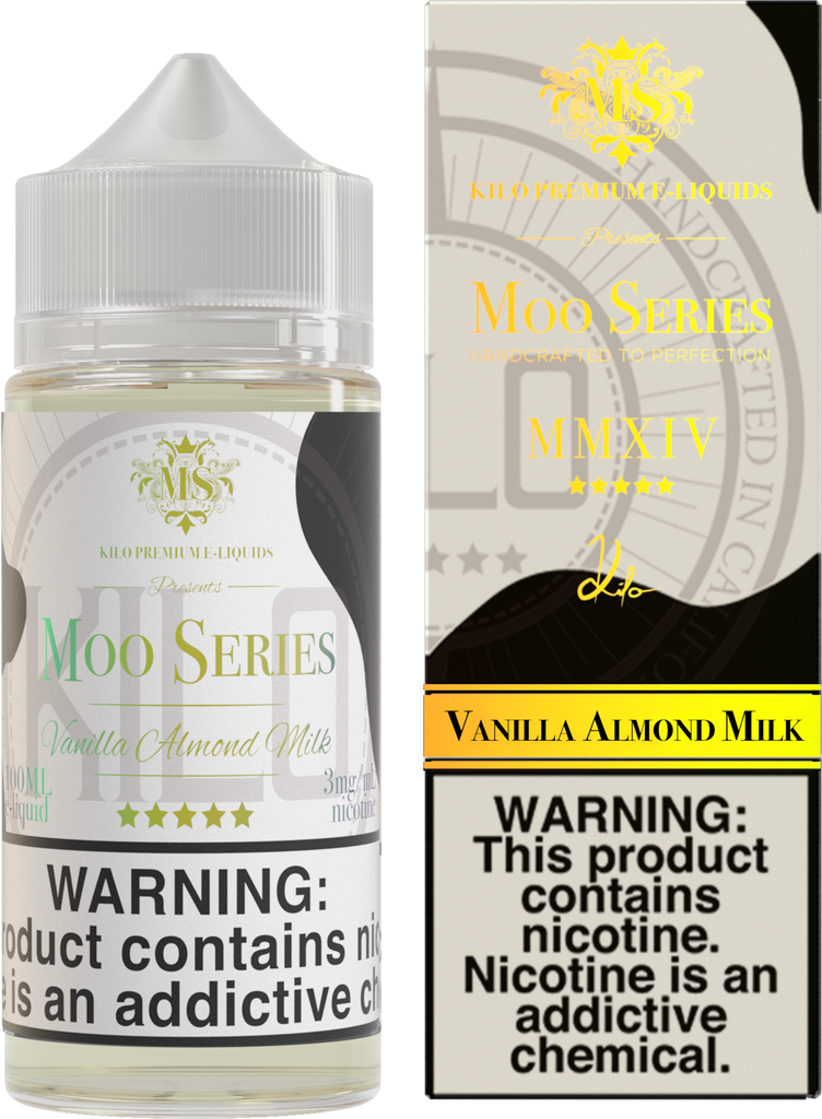 Kilo Moo Series Vanilla Almond Milk 100ml Ejuice
