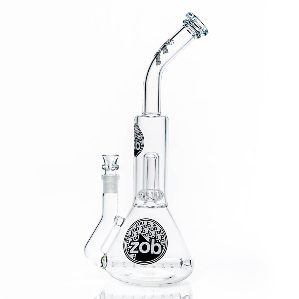 Zob Stemless Inline Diffused Beaker with UFO Perc Wubbler