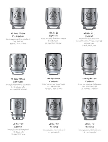 SMOK V8 Baby Replacement Coils 5pcs