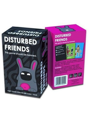 Disturbed Friends Board game - This game should be banned..