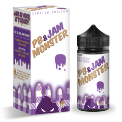 Jam Monster PB + Grape Jam Ejuice 100ml 0mg