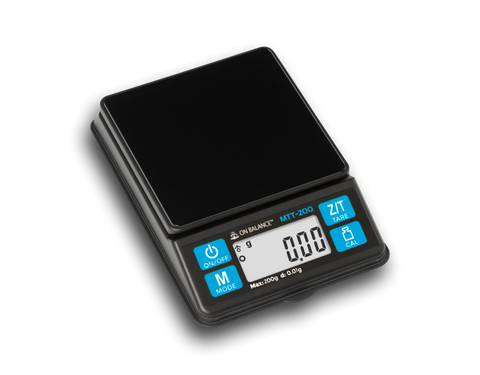 On Balance MTT-200 Mini Table Top Scale 200g x 0.01g
