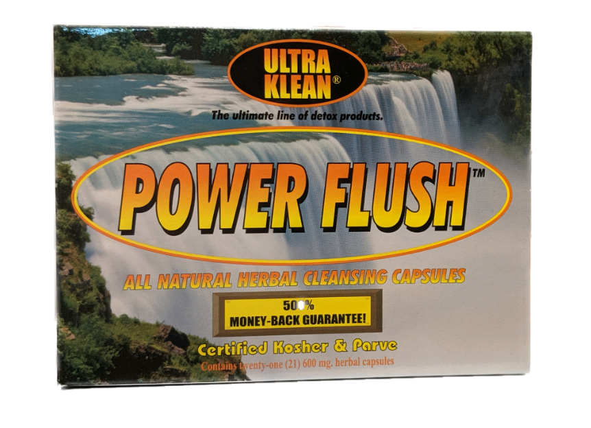 Power Flush Herbal Capsules