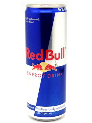 Red Bull Stash Can 473ml