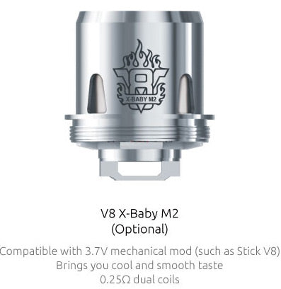 SMOK V8 X-Baby Replacement Coils 3pcs