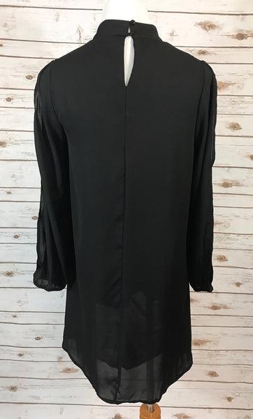 Choker Long Sleeve Dress