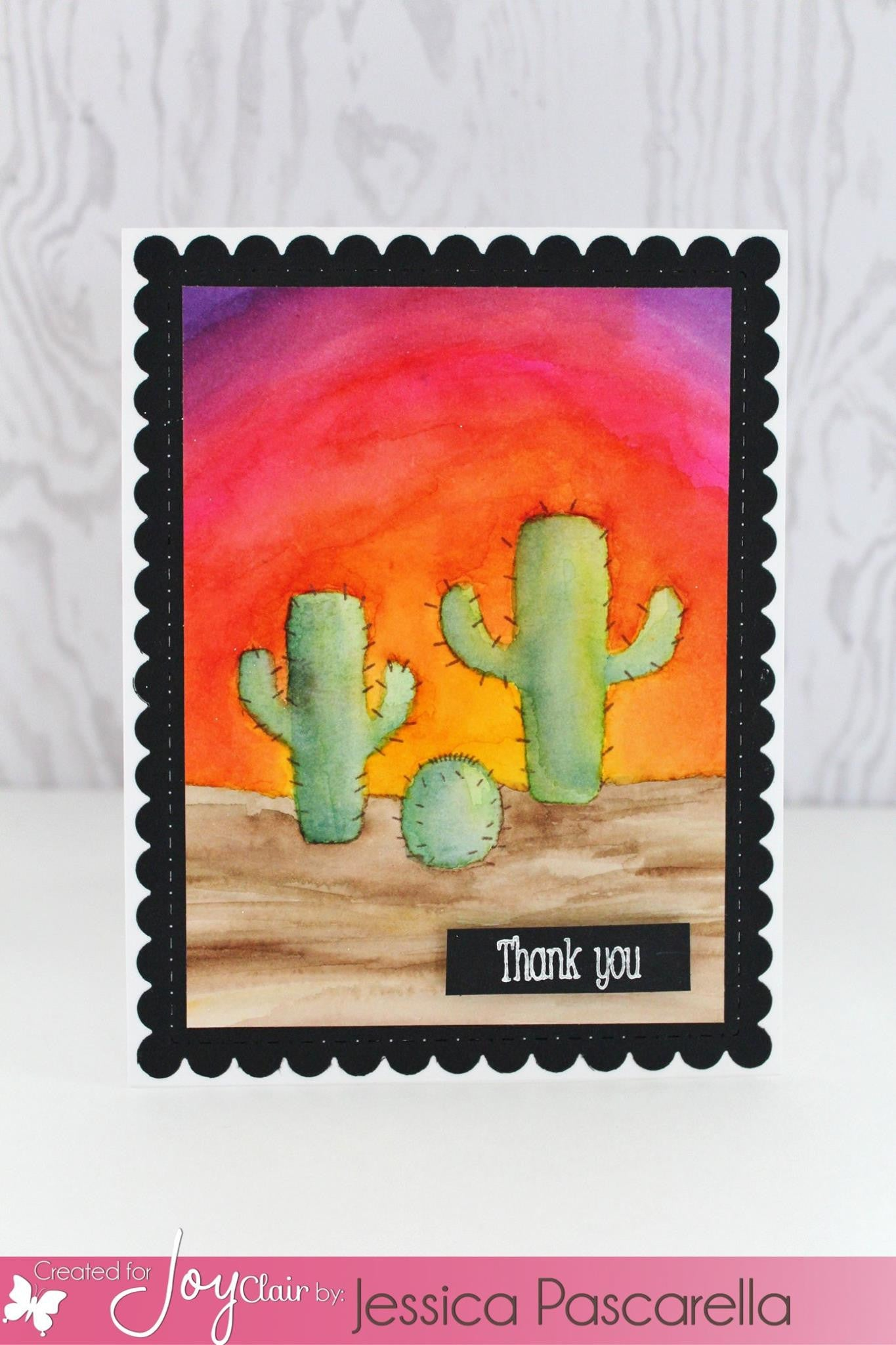 Prickly Happy Clear Stamp - Joy Clair - 4