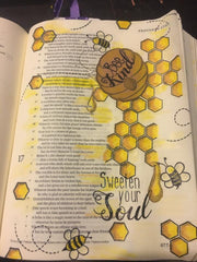 Clear Stamps - Bee Kind | Bible Journaling Clear Stamps - Joy Clair - 3
