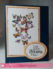 Clear Stamps - Butterfly Kisses Clear Stamp - Joy Clair - 5