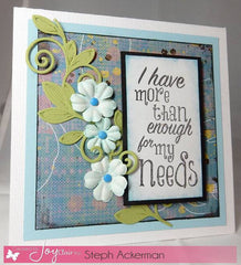 Clear Stamps - My Cup Runneth Over | BIble Journaling  Clear Stamps - Joy Clair - 4