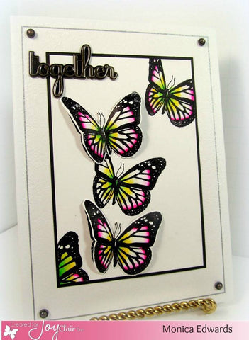 Butterfly Kisses Clear Stamp