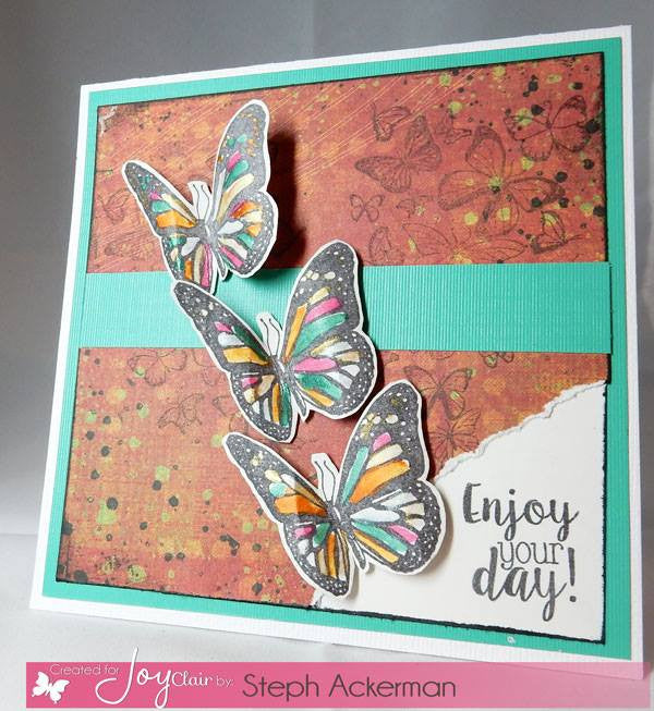 Clear Stamps - Butterfly Kisses Clear Stamp - Joy Clair - 3