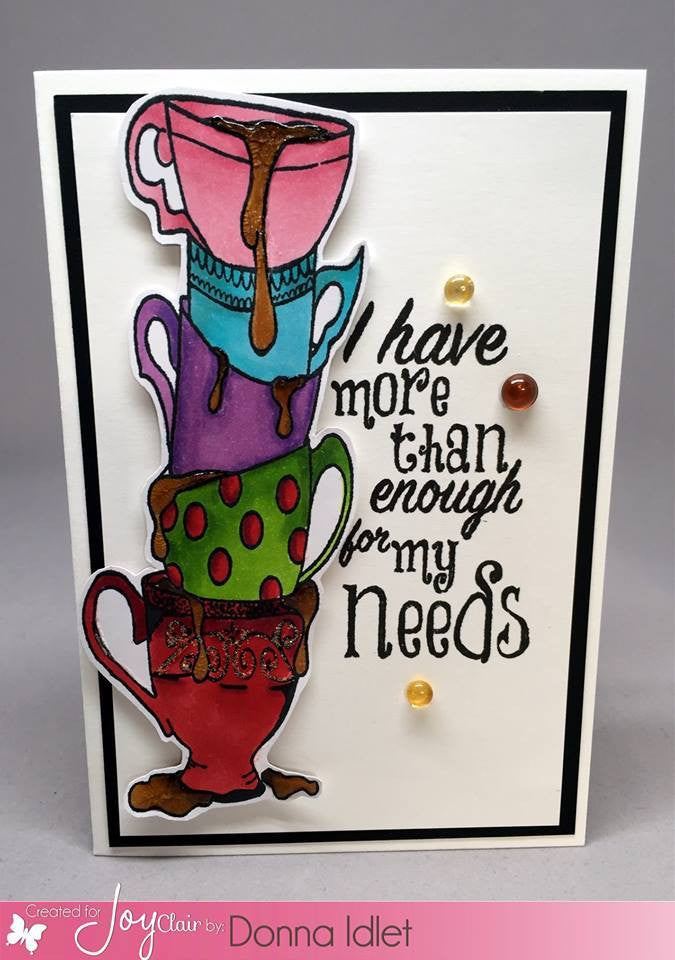 Clear Stamps - My Cup Runneth Over | BIble Journaling  Clear Stamps - Joy Clair - 3