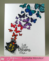 Clear Stamps - Butterfly Kisses Clear Stamp - Joy Clair - 2