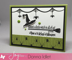 Spooky Greetings Clear Stamps - Joy Clair - 5