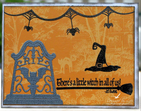 Spooky Greetings Clear Stamps