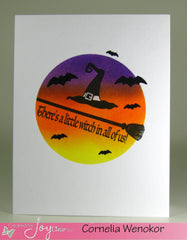 Spooky Greetings Clear Stamps - Joy Clair - 7