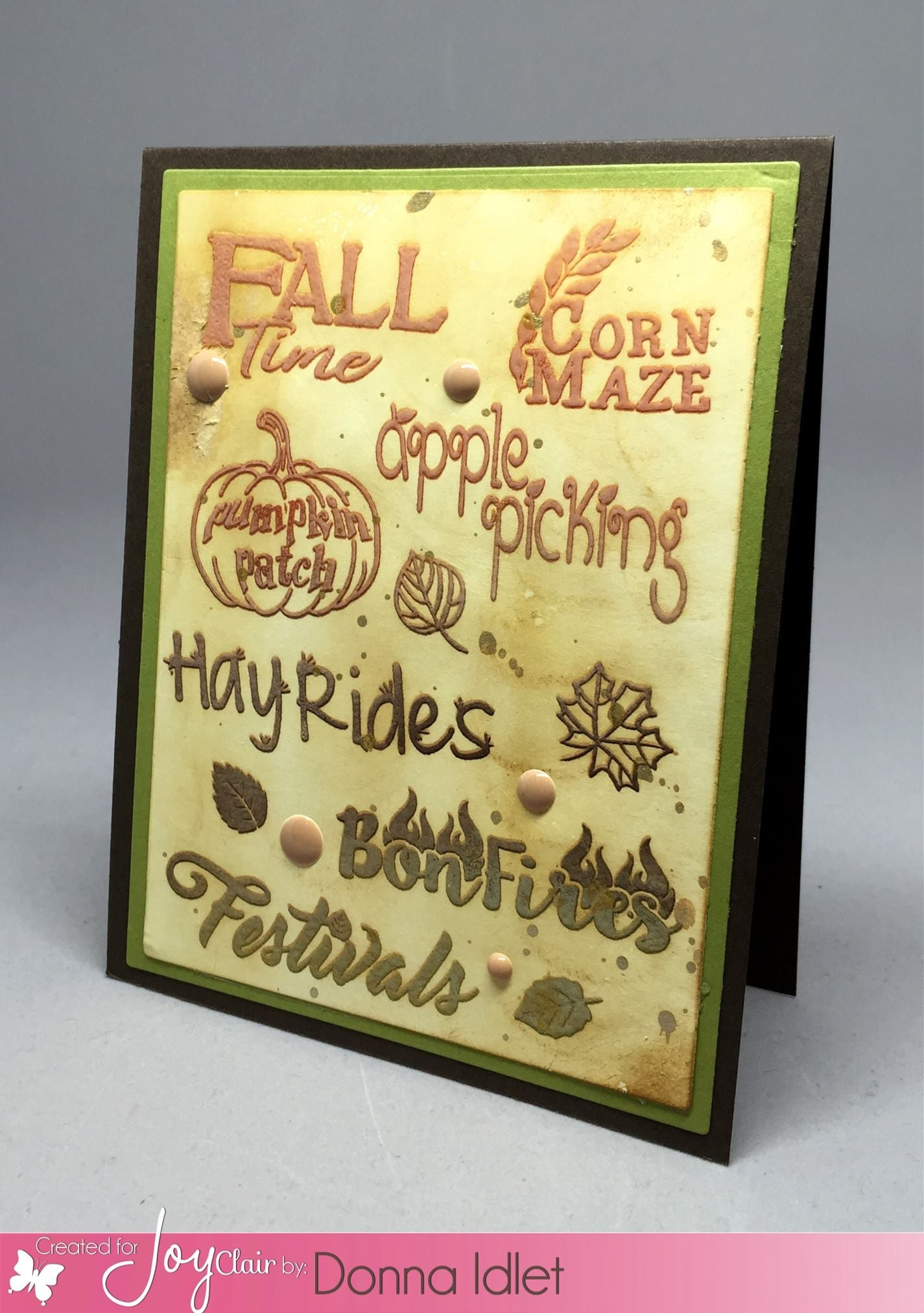 Fall Time Planner Clear Stamps - Joy Clair - 5