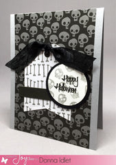 Spooky Greetings Clear Stamps - Joy Clair - 6