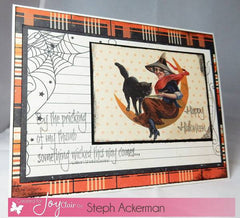 Spooky Greetings Clear Stamps - Joy Clair - 3
