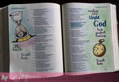 Clear Stamps - In God's Time | Bible Journaling Clear Stamp - Joy Clair - 5