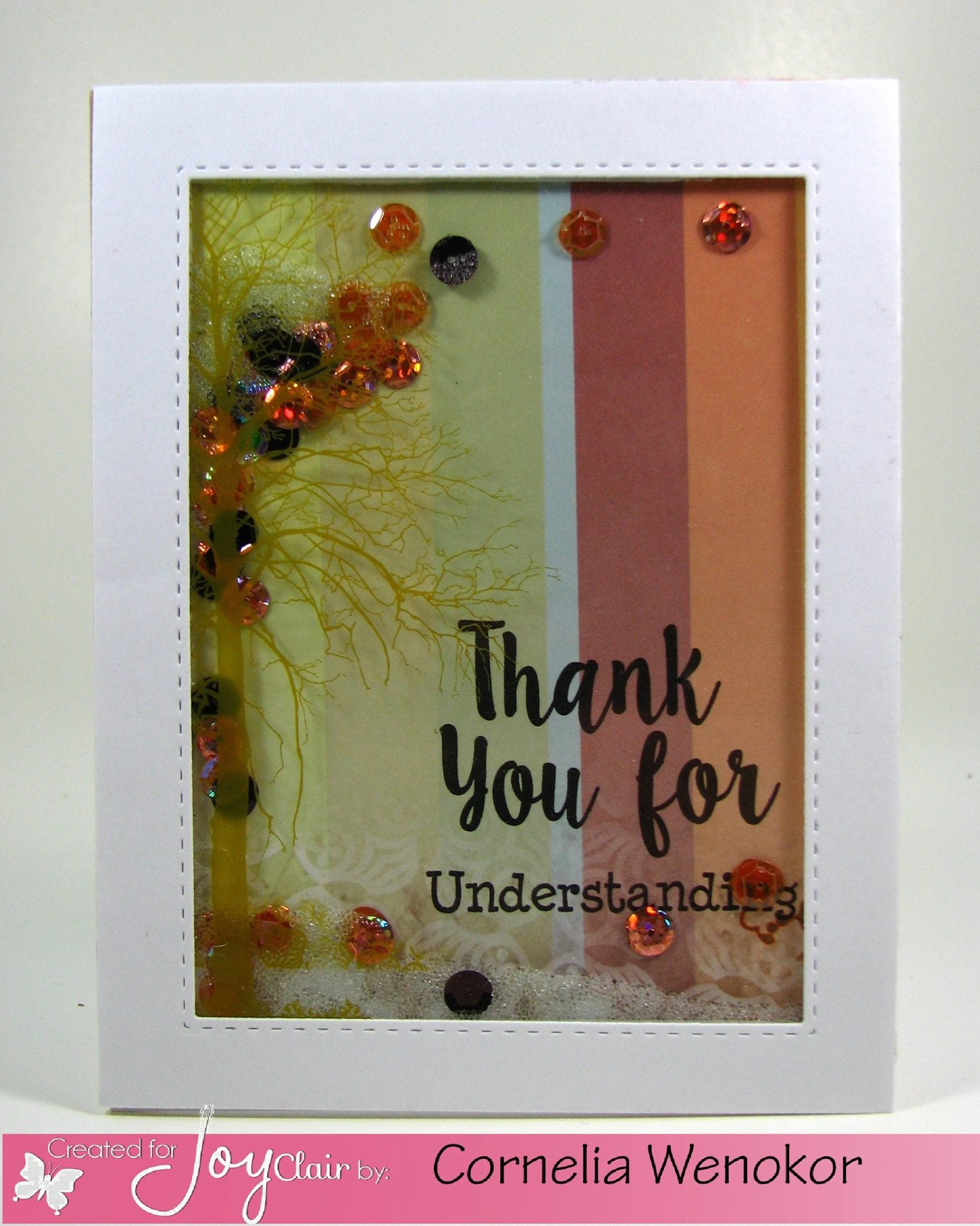Clear Stamps - Give Thanks |Bible  Journaling  Clear Stamps - Joy Clair - 6
