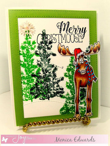 Merry Christmoose Clear Stamps
