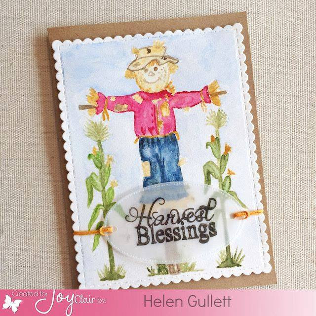 Harvest Blessing Clear Stamps - Joy Clair - 3