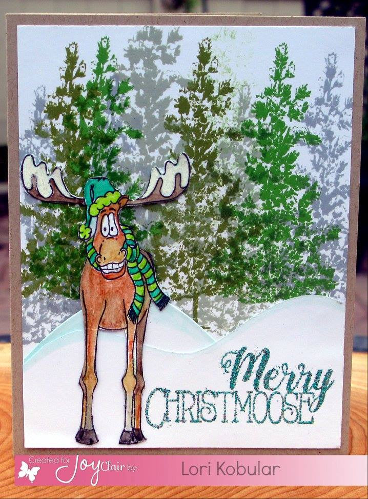 Merry Christmoose Clear Stamps - Joy Clair - 2