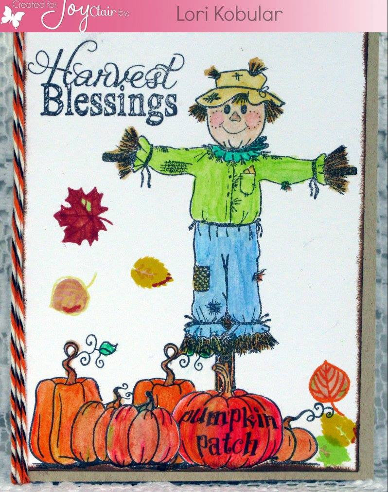 Harvest Blessing Clear Stamps - Joy Clair - 8