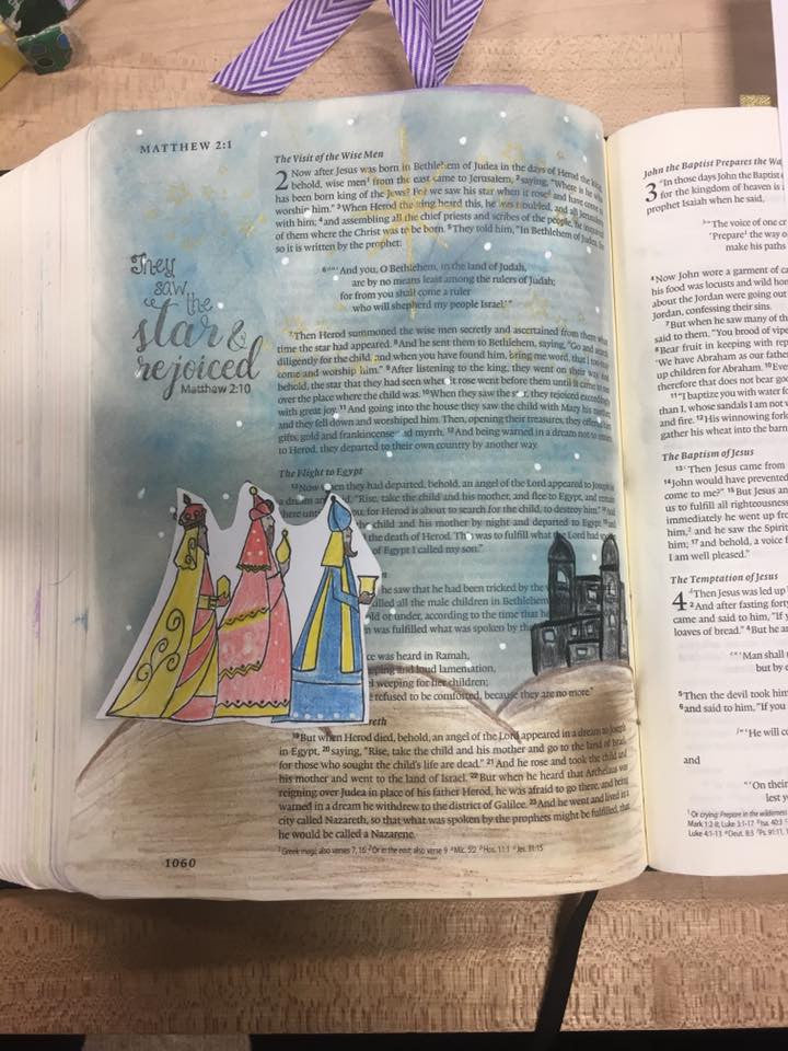 Clear Stamps - Three Wise Men  | Bible Journaling Clear Stamps - Joy Clair - 2