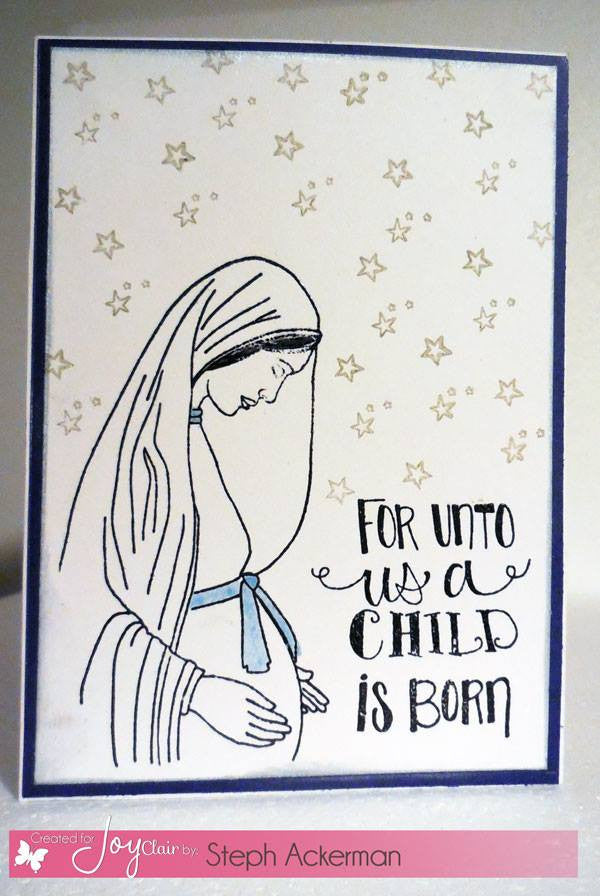 Clear Stamps - A Child is Born | Bible Journaling Clear Stamps - Joy Clair - 4