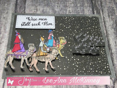 Clear Stamps - Three Wise Men  | Bible Journaling Clear Stamps - Joy Clair - 3