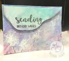 Hello sentiments Clear Stamps